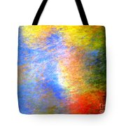 Imerging From Darkness To Lights Tote Bag
