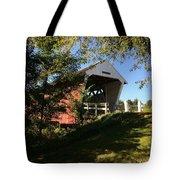 Imes Covered Bridge-winterset Tote Bag
