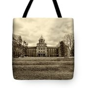 Immaculata University In Black And White Tote Bag