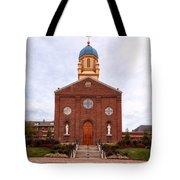 Immaculate Conception Chapel - University Of Dayton Tote Bag