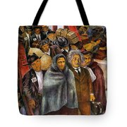 Immigrants, Nyc, 1937-38 Tote Bag