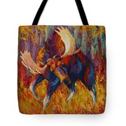 Imminent Charge - Bull Moose Tote Bag