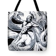 Imminent Death Tote Bag