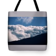 Imminent Judgment - San Rafael Mountains Tote Bag