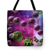 Immune Response Cytotoxic 4 Tote Bag