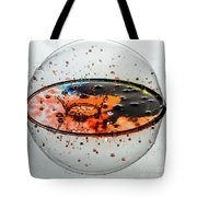 Impact On The Sphere Tote Bag