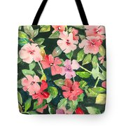 Impatiens Tote Bag