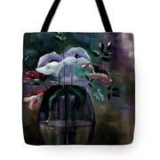Impatient Painterly Floral Tote Bag