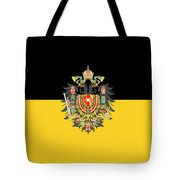 Habsburg Flag With Imperial Coat Of Arms 1 Tote Bag