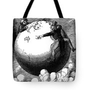 Imperialism Cartoon, 1876 - To License For Professional Use Visit Granger.com Tote Bag