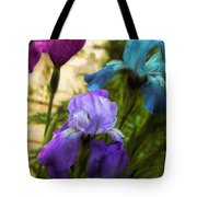 Impossible Irises Tote Bag