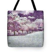 Impresionist Garden Tote Bag