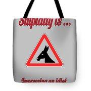 Impressing Bigstock Donkey 171252860 Tote Bag
