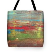 Impression Collection I Mountain Sunset Tote Bag
