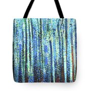 Impression Of Trees Tote Bag