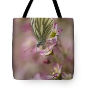 Impression With A Small Butterfly Tote Bag