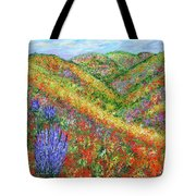 Impressionism- Flowers- Dreaming Of Spring Tote Bag