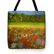 Impressionism Flowers- Pretty Posies Tote Bag