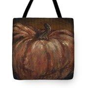 Impressionist Autumn Pumpkin Tote Bag