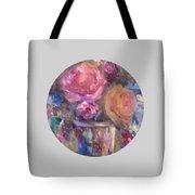 Impressionist Floral Art Tote Bag