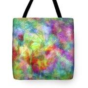Impressionist Floral Xxxii Tote Bag