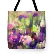 Impressionist Floral Xxxvi Tote Bag