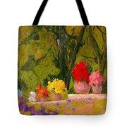Impressionist Garden  Tote Bag
