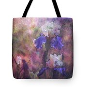 Impressionist Purple And White Irises 6647 Idp_2 Tote Bag