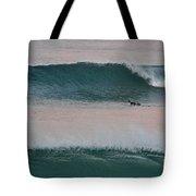 Impressionist Surfing  Tote Bag