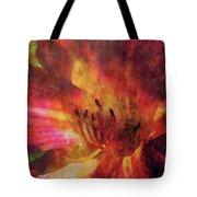 Impressionist Vibrant Daylily 1208 Idp_2 Tote Bag