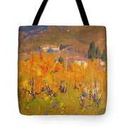 Impressionist Vineyard - Tuscany Tote Bag