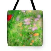 Impressionistic Blossom 5 At Britain Park Tote Bag