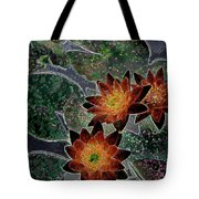 Impressionistic Lilies Tote Bag