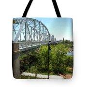 Impressionistic Llano Bridge Tote Bag
