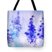 Impressionistic Lupines 1 Tote Bag