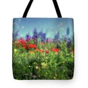 Impressionistic Springtime Tote Bag
