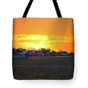 Impressionistic Sunset Tote Bag