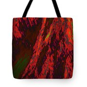 Impressions Of A Burning Forest 10 Tote Bag