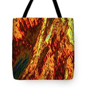Impressions Of A Burning Forest 11 Tote Bag