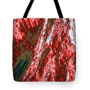 Impressions Of A Burning Forest 12 Tote Bag