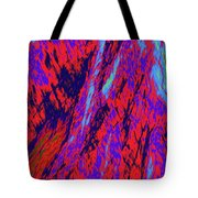 Impressions Of A Burning Forest 16 Tote Bag