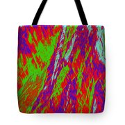 Impressions Of A Burning Forest 17 Tote Bag