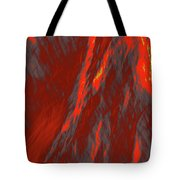 Impressions Of A Burning Forest 6 Tote Bag