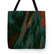 Impressions Of A Burning Forest 7 Tote Bag