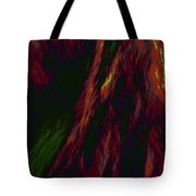 Impressions Of A Burning Forest 9 Tote Bag