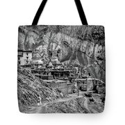 In A Far Land Bw Tote Bag