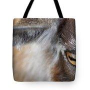 In A Goat's Eye Tote Bag