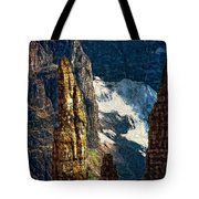In A High Place Impasto Tote Bag