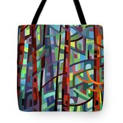 In A Pine Forest - Crop Tote Bag