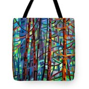 In A Pine Forest Tote Bag